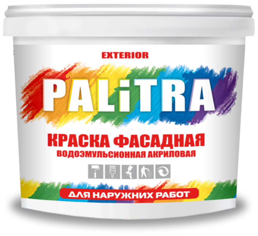"""PALITRA-EXTERIOR"" фасад бўёғи (ташқи ишлар учун)"