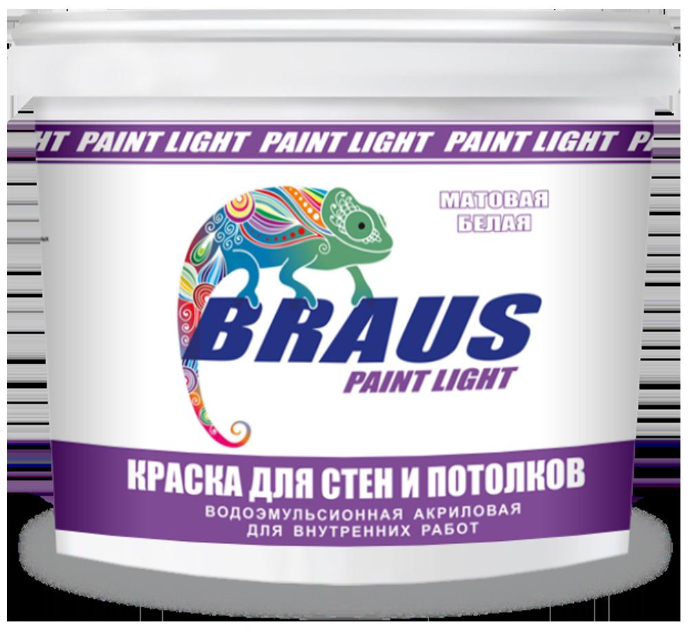 """Краска для стен и потолков """"BRAUS-LIGHT"""" (для внутренних работ)"""